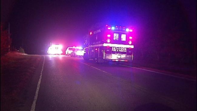 Teenage Driver Killed In Crash Outside Skiatook