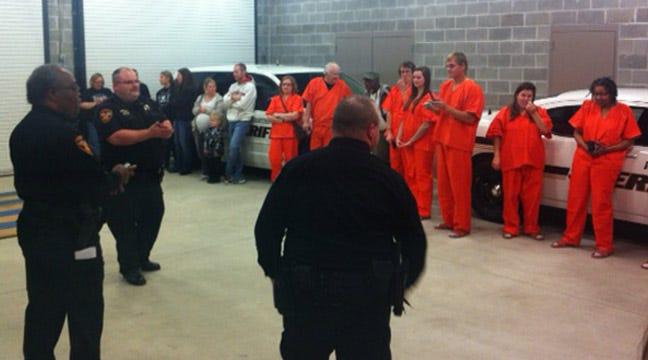 Washington County Fundraiser Puts Law Abiding Citizens Behind Bars