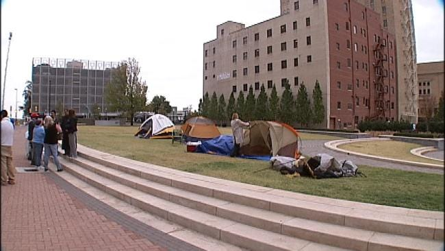 Occupy Tulsa Protesters May Challenge Police Again