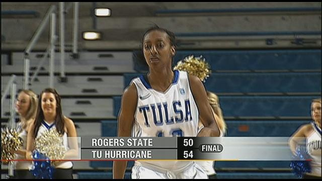 Tulsa Outlasts Rogers State To Open Season