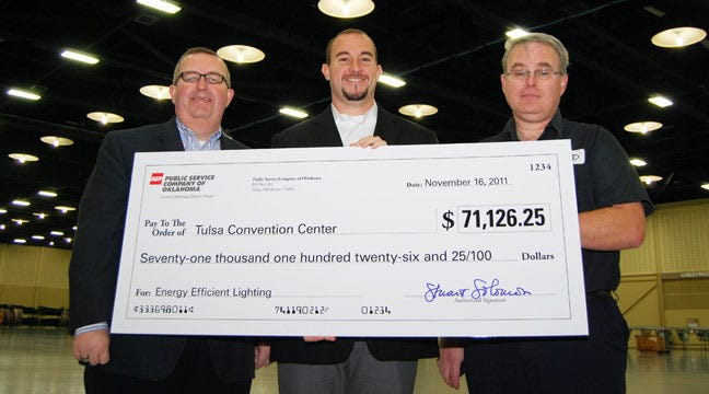 Lighting Retrofit Pays Off Big For Tulsa Convention Center