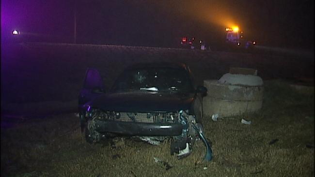 OHP: Fog A Factor In Tulsa County Car Crash