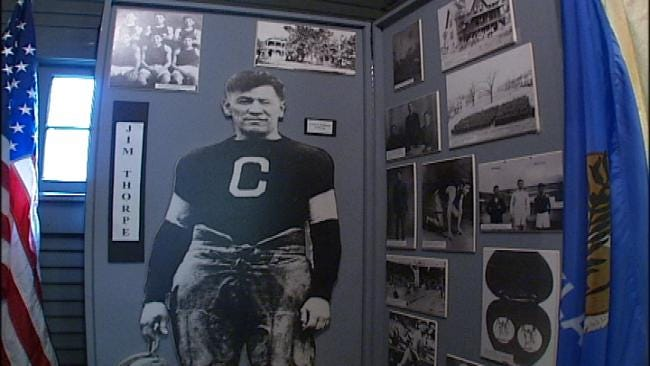 Family Fights To Bring Athlete Jim Thorpe's Remains To Oklahoma