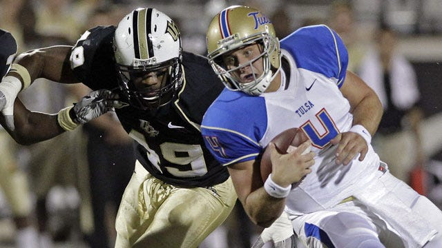 Tulsa Overcomes Tough UCF Defense To Stay Perfect In Conference