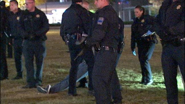 10 More Protesters Arrested For Violating Curfew At Occupy Tulsa Event