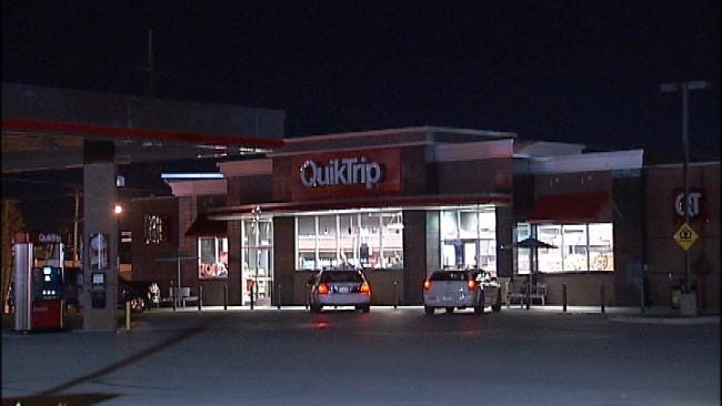 Man With Knife Robs Tulsa QuikTrip Convenience Store