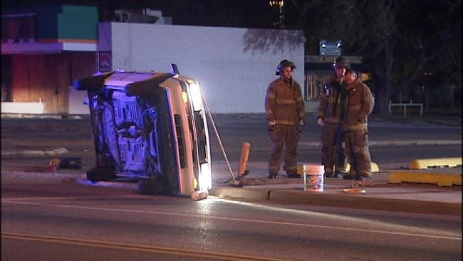 Alcohol Blamed For Tulsa Rollover Wreck
