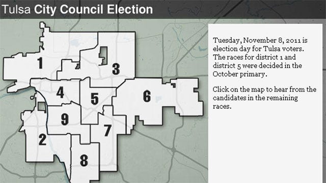News On Six Helps Tulsans Vote In City Council Election