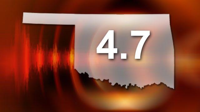 4.7 Magnitude Earthquake Rattles Oklahoma Monday Evening