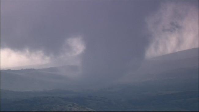 Tornado Outbreak In Southwestern Oklahoma Monday Afternoon