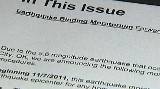 Want Oklahoma Earthquake Insurance? Get Ready To Wait