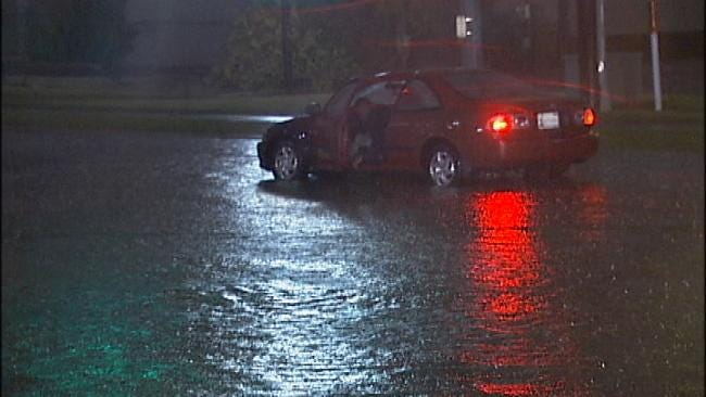 Heavy Rains, Minor Flooding Across Tulsa, NE Oklahoma