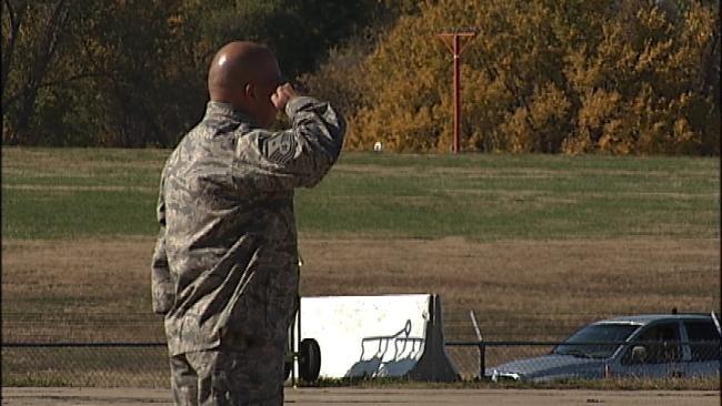Body Of Fallen Oklahoma Soldier Returns Home In Solemn Ceremony