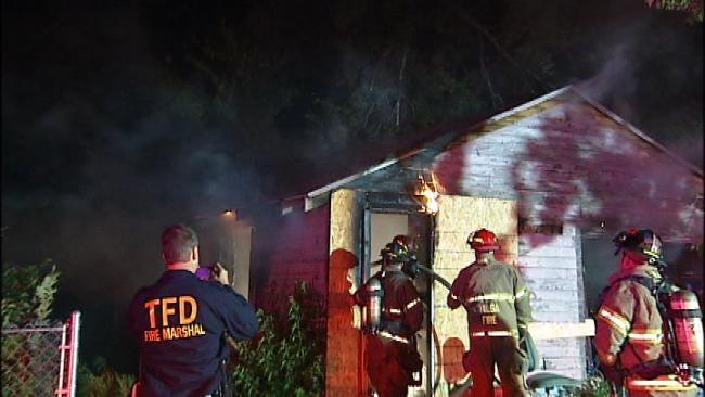 Fire Damages North Tulsa Garage Apartment