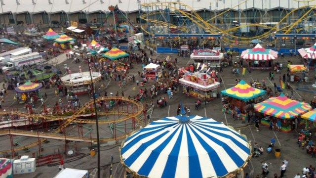 Tulsa Sheriff: Sapulpa Couple Used Baby Boy To Shoplift At Tulsa State Fair