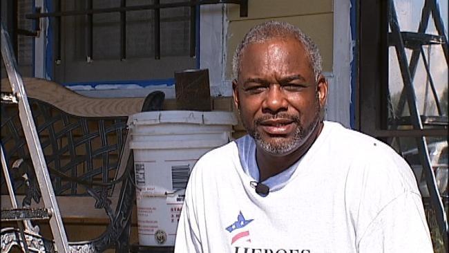 Community Helps Repair Tulsa Veteran's Home