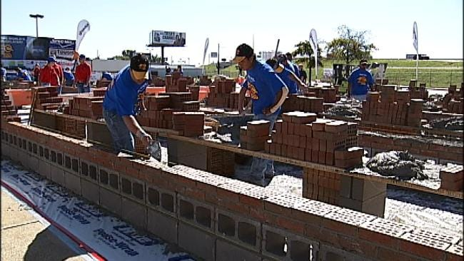 Brick Layers Compete For Cash, Prizes