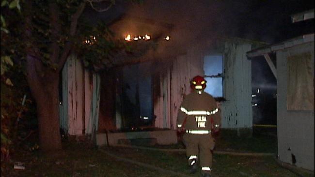 Tulsa House Fire Ruled Arson
