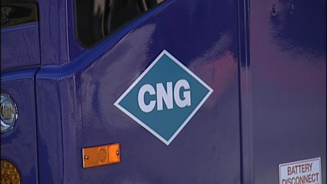 Tulsa Transit's New CNG Buses Will Leave A Smaller Carbon Footprint