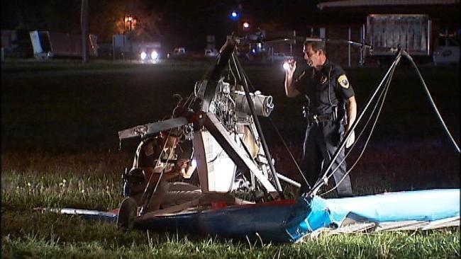 Two Injured In Ultralight Plane Crash Near Okmulgee Friday Night