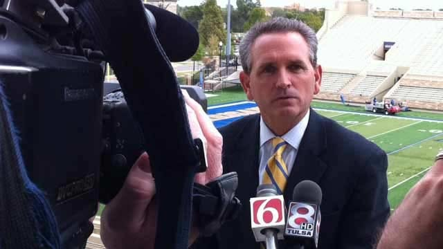 UNC Hires Tulsa's Cunningham As Athletic Director