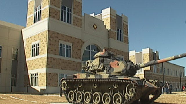 Broken Arrow's New Armed Forces Reserve Center Dedicated Saturday