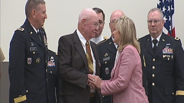 Claremore World War II Veteran Honored Decades After Service