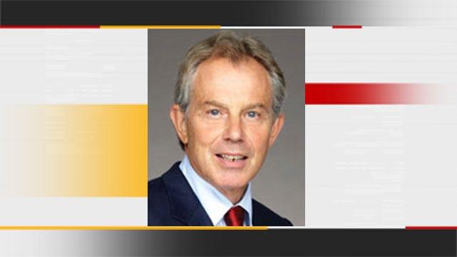 Former British Prime Minister Tony Blair To Speak In Tulsa In November