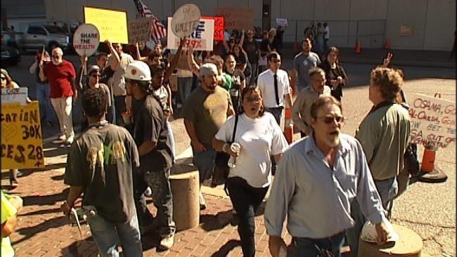 'Occupy' Movement Spreads To Tulsa