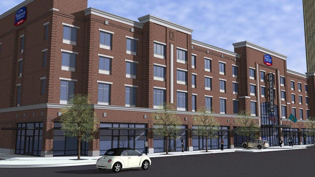 New Hotel Planned For Tulsa's Brady District