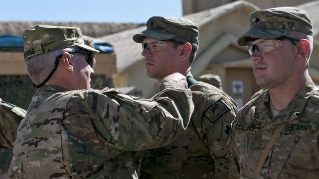 Oklahoma's Top National Guard Soldier Visits Afghanistan
