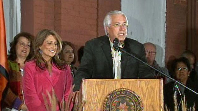 Cherokee Nation's New Chief Gets Down To Business