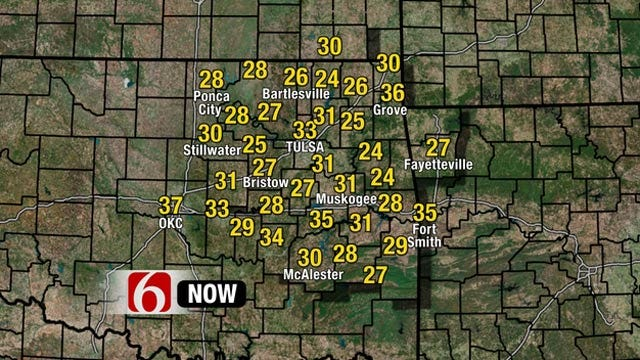 First Freeze Of The Season Across NE Oklahoma