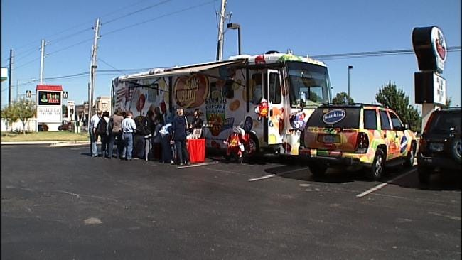 Jelly Belly Bus Tour Stops In Tulsa