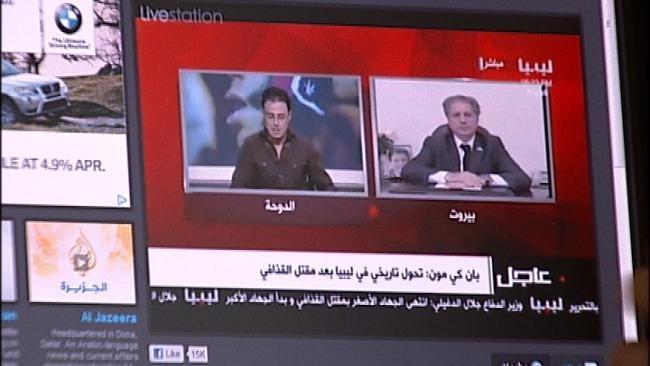 Libyans Living In Tulsa React To Muammar Qaddafi's Death