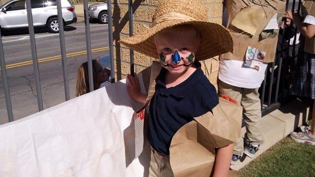 Tulsa School Kids Get In The Fall Spirit