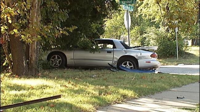 15-Year-Old Girl Critically Injured In Tulsa Crash