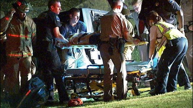Woman Wrecks Jeep Into Tulsa's Woodward Park Pond