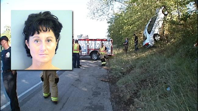 Tulsa Woman Arrested While Snapping Photos Of Crash