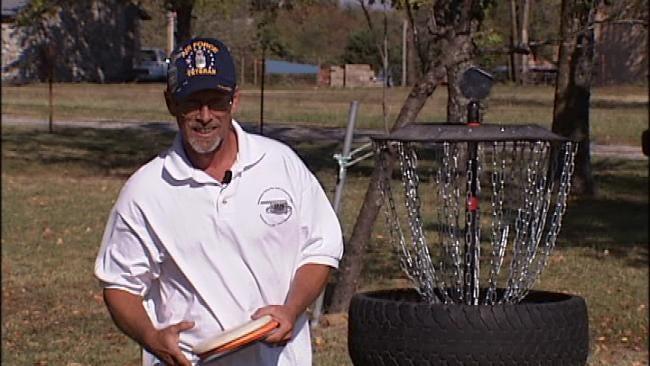 Rogers County Man Creates Disc Golf Innovation