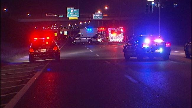 Homeless Man Crossing I-244 In Tulsa Killed, Struck By Multiple Cars