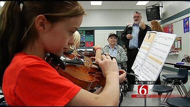 TCC Symphony Donates Instruments To Tulsa Schools