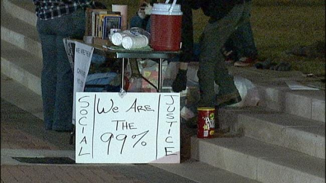 'Occupy' Activists Plan All Night Protest In Downtown Tulsa