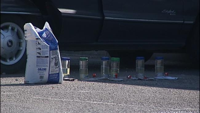 Tulsa Police Find Six Fire Bombs In Man's Car