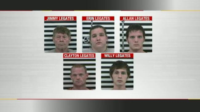 Rogers County Family Busted In Alleged Crime Ring