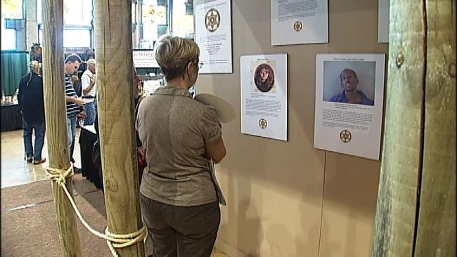 Tulsa County Sheriff's Office Sets Up Cold Case Booth At Fair