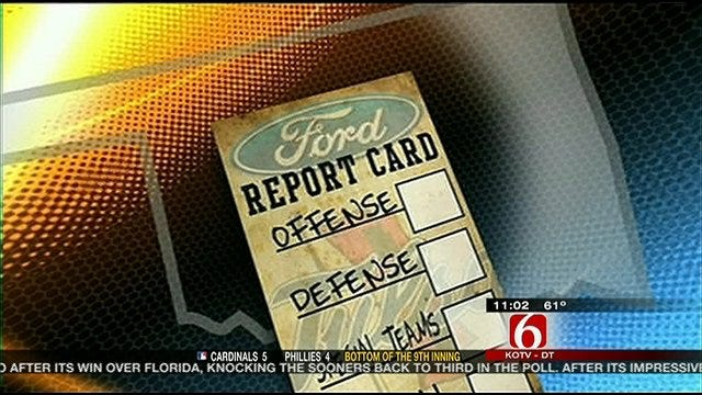 Tulsa Report Card Against North Texas