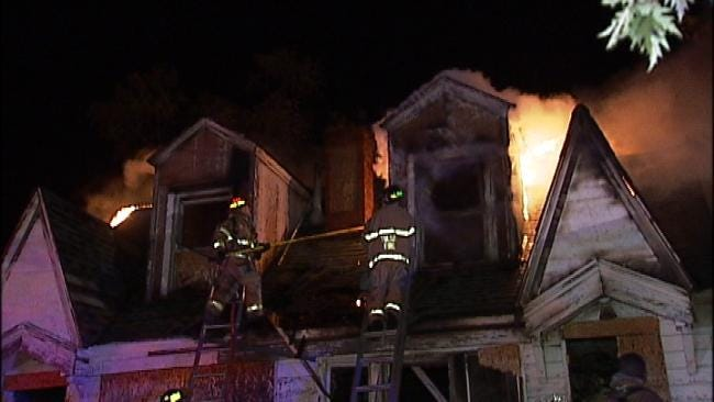 String Of Suspicious Fires Keep Tulsa Crews Busy