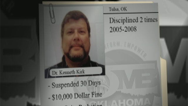 Oklahoma Doctors In Trouble: Is Your Doctor Clean And Sober?