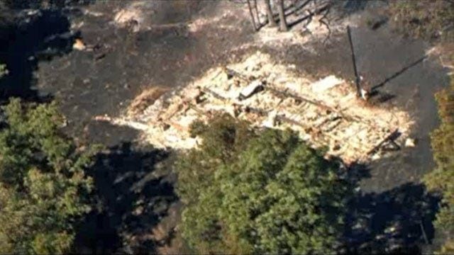 At Least 1 Structure Lost In Cushing Wildfire